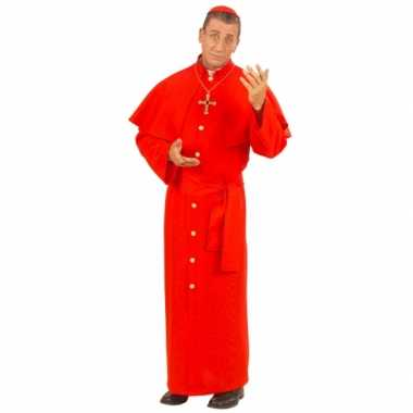 Paus verkleedkleren rood