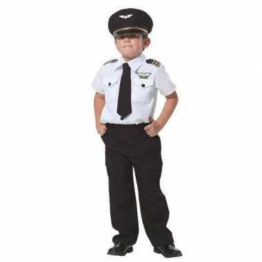 Piloot verkleedkleren voor jongens