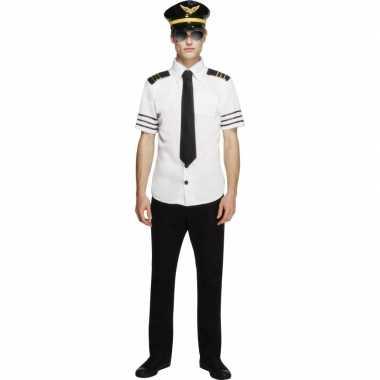 Piloten verkleedkleren heren