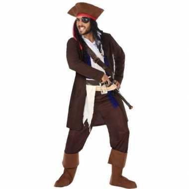 Piraat christopher verkleed pak/verkleedkleren voor heren