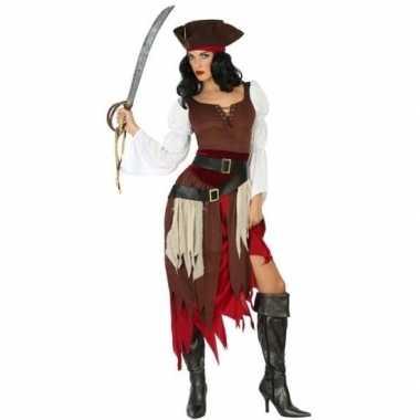 Piraat francis verkleed pak/verkleedkleren voor dames
