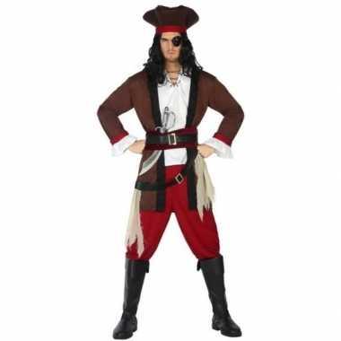 Piraat henry verkleed pak/verkleedkleren voor volwassenen
