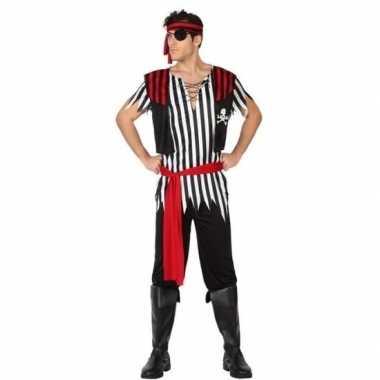 Piraat jack verkleed pak/verkleedkleren voor heren