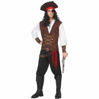 Piraat lewis verkleed pak/verkleedkleren voor volwassenen