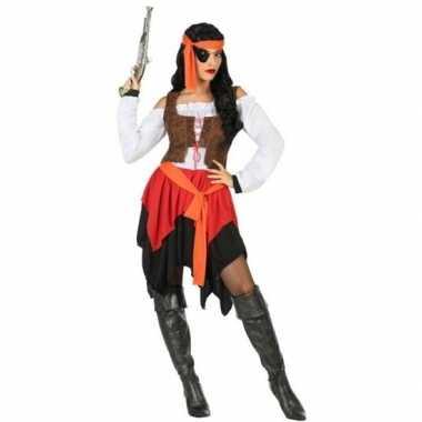 Piraat mary verkleed pak/verkleedkleren voor dames