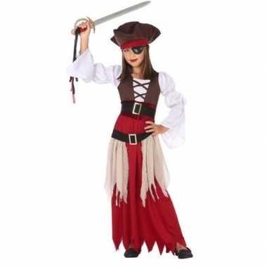 Piraten verkleedkleren/jurk voor meisjes