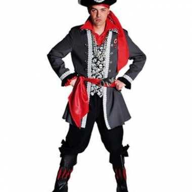 Piraten verkleedkleren luxe voor heren