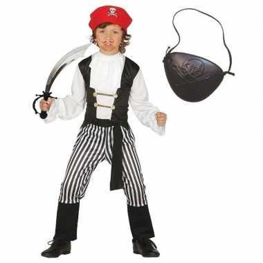 Piraten verkleedkleren maat 140 152 voor kinderen