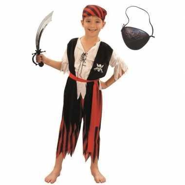 Piraten verkleedkleren maat m voor kinderen