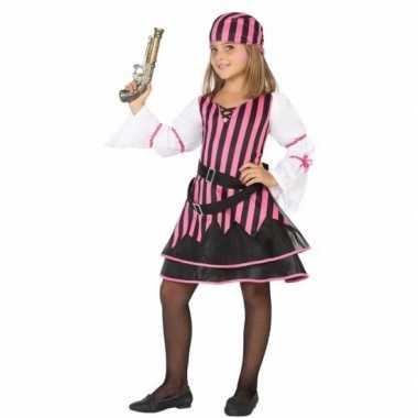 Piraten verkleedkleren voor meisjes roze