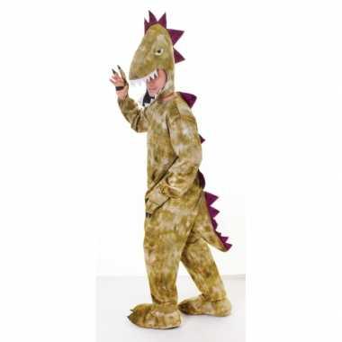 Pluche dinosaurus verkleedkleren volwassenen