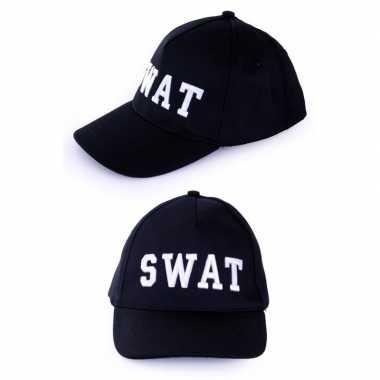 Politie swat baseball cap verkleedkleren voor volwassenen