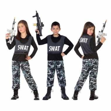 Politie swat verkleed pak/verkleedkleren voor kinderen