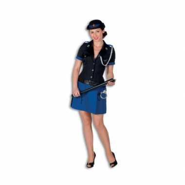 Politie verkleedkleren polyester voor dames