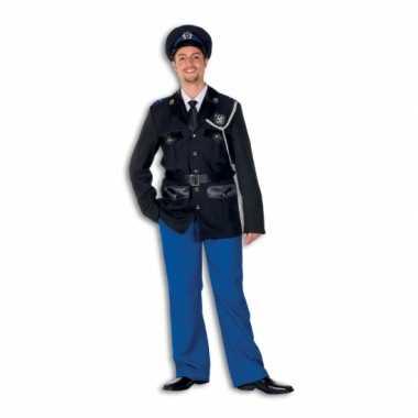 Politie verkleedkleren polyester voor heren
