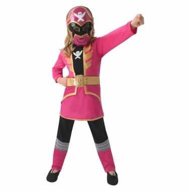 Power ranger verkleedkleren voor kinderen roze