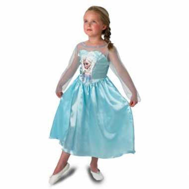 Prinsessen feest verkleedkleren elsa voor meisjes