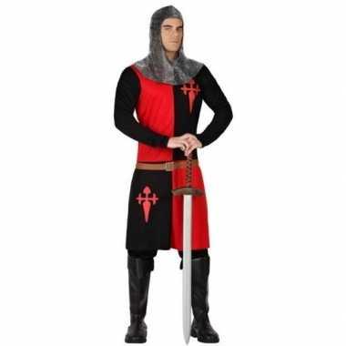 Ridder verkleedkleren zwart/rood voor heren