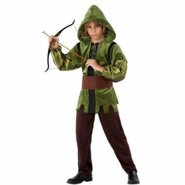 Robin hood verkleedkleren 3 delig voor kinderen