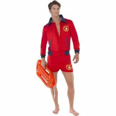 Rode baywatch verkleedkleren