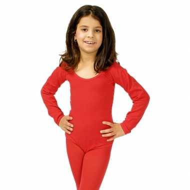 Rode kinder ballet verkleedkleren