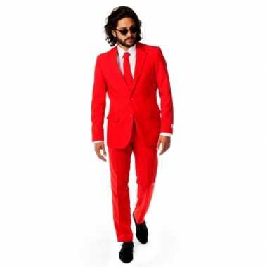 Rode verkleedkleren voor heren