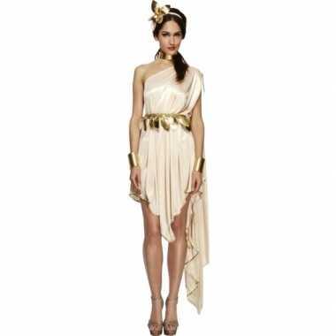 Romeinse godin verkleedkleren jurk voor dames