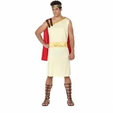 Romeinse/griekse heer agis verkleedkleren voor heren