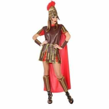 Romeinse soldaat/gladiator felicia verkleedkleren/jurk voor dames