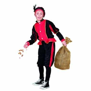 Rood pieten verkleedkleren voor kinderen