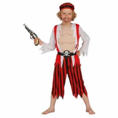 Rood piraten verkleedkleren voor kinderen
