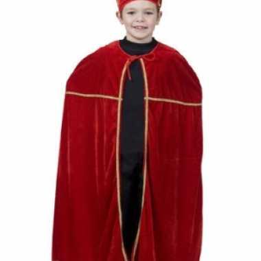 Rood sinterklaas verkleedkleren voor kinderen