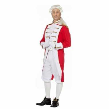 Rood wit presentator verkleedkleren