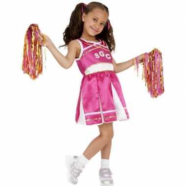 Roze cheerleader verkleedkleren