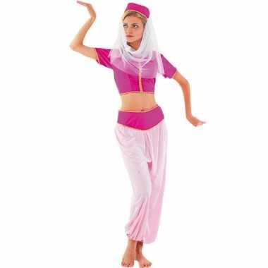 Roze harem prinses verkleedkleren
