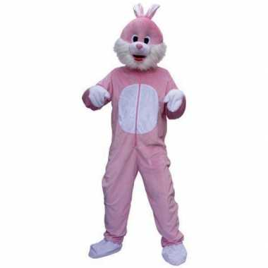 Roze konijnen verkleedkleren