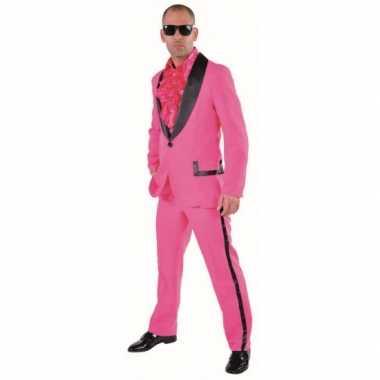 Roze smoking verkleedkleren voor heren