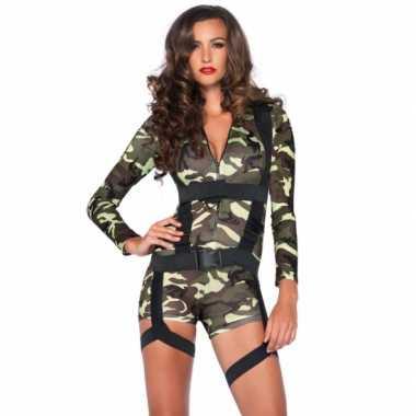 Sexy commando verkleedkleren voor dames