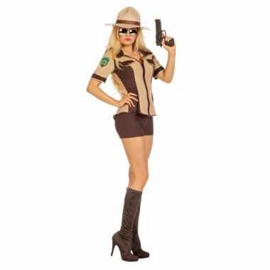 Sexy sheriff verkleedkleren voor dames