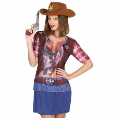 Sheriff verkleedkleren voor dames