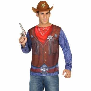 Sheriff verkleedkleren voor heren