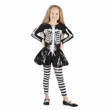 Skelet verkleedkleren voor meisjes