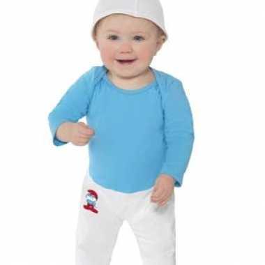 Smurfen verkleedkleren voor baby's