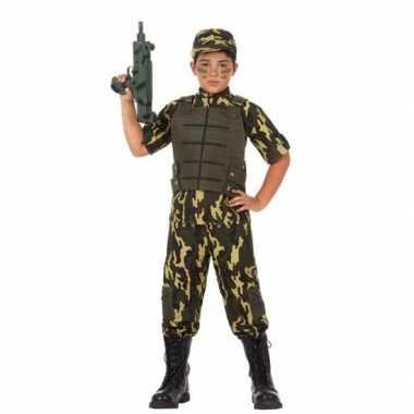 Soldaat/leger verkleedkleren voor jongens