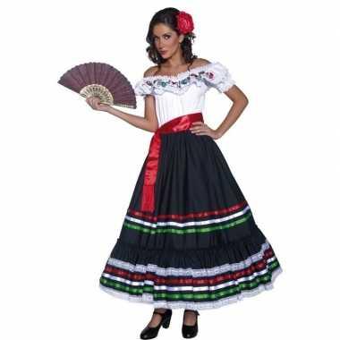 Spaanse danseres verkleedkleren voor dames