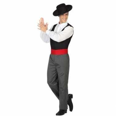 Spaanse flamencodanser verkleedkleren voor heren