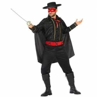 Spaanse gemaskerde held verkleedkleren voor heren