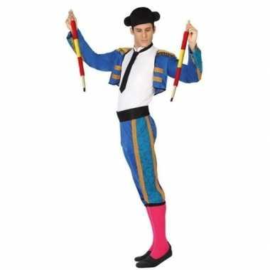 Spaanse matador/stierenvechter verkleedkleren voor heren