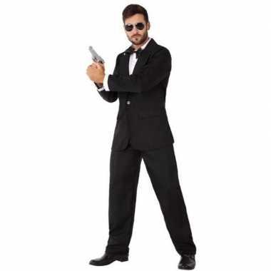 Spion/geheim agent verkleedkleren voor heren