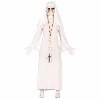 Spookachtige nonnen verkleedkleren voor dames